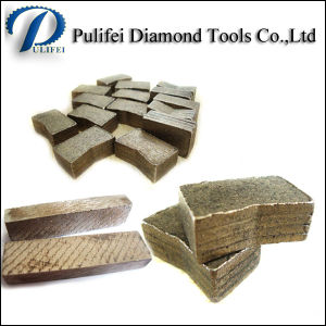 Granite Diamond Cutting Tools Long Life Cutting Segment 2000mm