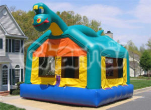 Inflatable Dinosaur Moonwalk Bouncer House pictures & photos