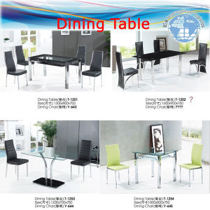 Ocean Shipment Container FCL, LCL (Leather table, PU chair, table) pictures & photos