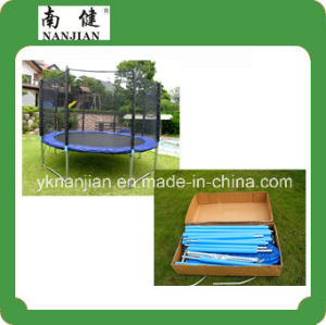 Big Round Outdoor Trampoline with Net for Adults Nj-Big13 pictures & photos
