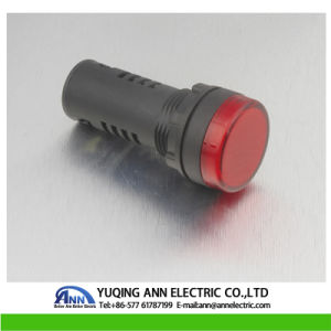 High Quality and Nice Price Ad16-22 White 12V LED Power Indicator Signal Light Ad16 22 22mm Mounting Size LED pictures & photos
