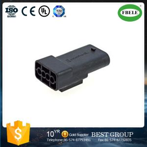 Equivalent Automotive Car Connector Black 4 Pin Auto Plug Connector pictures & photos