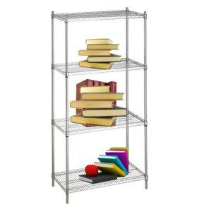 DIY Chrome Metal Wire Book Rack (CJ13535180A4C) pictures & photos