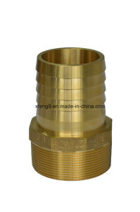 Dzr Brass Male Hose Barb Adapter Fitting pictures & photos