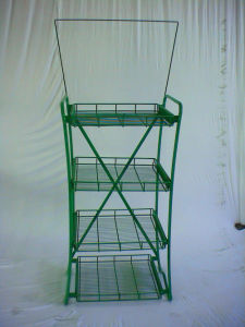 Grocery Retail Store Merchandising Metal Display/Exhibition Stand pictures & photos