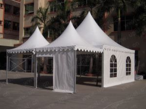 Top Sale Outdoor Chinese Garden PVC Fabric Aluminum Frame Pagoda Tent pictures & photos