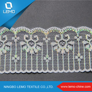 Lace Embroidery Designs Polyester Crochet Elastic Lace pictures & photos