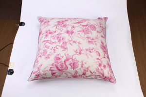 Printing Soft Cotton Cover White Goose Down Pillow