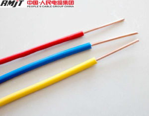 1.5mm2, 2.5mm2, 4.0mm2 Copper Conductor PVC Insualted Electrical Wire pictures & photos