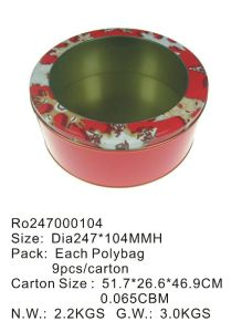 Hotsale Food Tin Container with Printing Custom Artwork pictures & photos