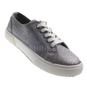 Glitter PU Vulcanized Shoes for Women