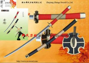 One Piece Kitetsu Katana Roronoa Zoro Sword Real Steel Cosplay Prop