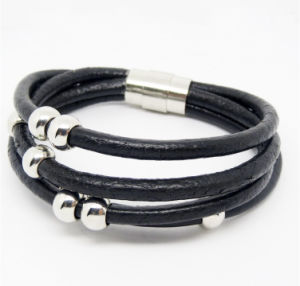 Wholesale High Quality Leather Bracelet Fashionable Bracelet in Europe# 31551 pictures & photos