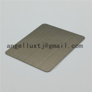 Factory Price High Quality Color Satin Stainless Steel Sheet Violet Color Wall Decorative Sheet pictures & photos