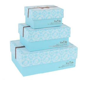 Fasional Recyclable Apparel Boxes for Shoes Packaging