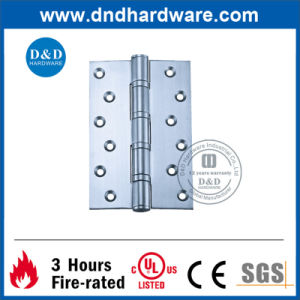 Stainless Steel Door Accessories 4 Ball Bearing Hinge with UL Listed pictures & photos