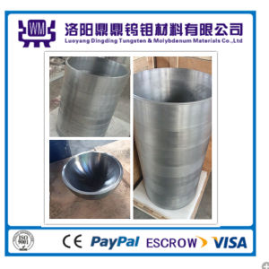 Forged Machining 99.95% Molybdenum Crucible pictures & photos
