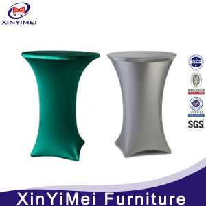 New Series of Elegant Fitted Stretch Spandex Spandex Cocktail Table Cover Table Cloth Holder pictures & photos