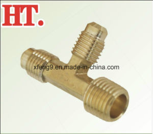 Brass Flare 2-Way Male Run Tee Fitting pictures & photos