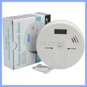 Wireless LED Display Carbon Monoxide Detector Co Alarm Smoke Alarm pictures & photos
