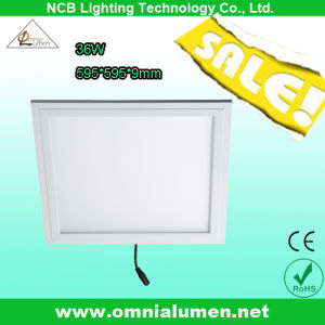 600*600mm 36W LED Panel Lamp with Cable Connector