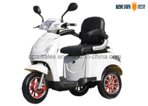 Electric 3 Wheel Handicap Scooters Mobility Electric Scooters for Adults pictures & photos