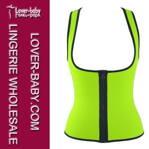 Woman Latex Waist Trainer Gym Wear Waist Cincher (L42659-5) pictures & photos