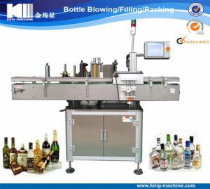 Automatic Adhesive Label Machine for Round Bottles pictures & photos