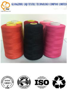 100% Spun Polyester Sewing Thread with Cotton Thread pictures & photos