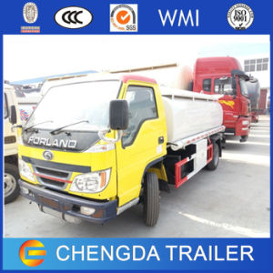 5000L Dongfeng Foton 6-Wheeler Light Oil Fuel Tanker Trucks Sale pictures & photos