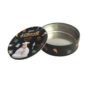 Enbossing Metal Tin Box Cookie Food Box Packaging Tin Can pictures & photos