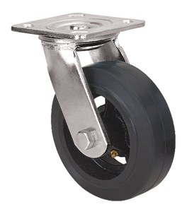 Heavy Duty Caster Series- 4in. Swivel - Rubber Wheel pictures & photos