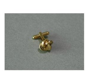 Custom Irregular 3D Effect Gold Plated Cufflinks (GZHY-XK-013) pictures & photos