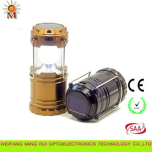 Multi Function Modern Design Foldable Solar Lantern Camp Lights pictures & photos