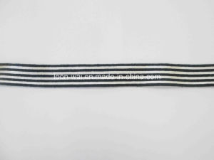 Garment Accessories Cotton Stripe Webbing