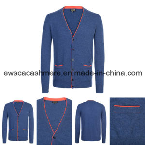 Men Indie Pop Top Grade Pure Cashmere Knitwear