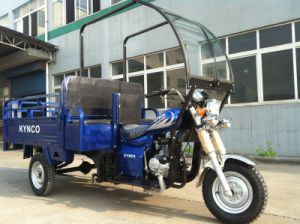 150cc Cargo Tricycle with Front Glass Assy/Five Wheel Motorcycle (TR-18) pictures & photos