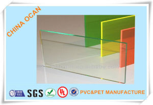 2.0mm 1220 X 2440mm Super Clear Transparent PVC Sheet for Bending pictures & photos