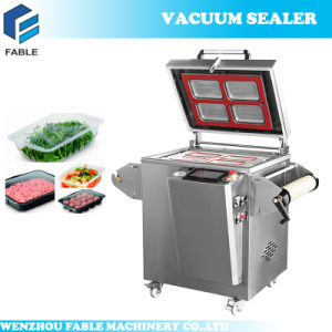 Movable Gas Adjustable Vacuum Sealing Machine (FBP-430) pictures & photos