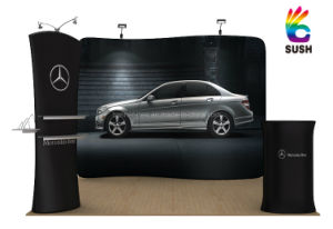 Tension Fabric Portable Exhibition Stand, Display Stand, Banner Stand (KM-BSS) pictures & photos