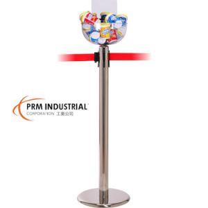 PC Merchandising Bowl with Pricing Strip for Queue Barrier pictures & photos