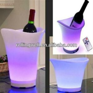 Ice Bucket with LED/ Lighting Beverage Coolers