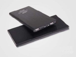 Slim Aluminium Alloy Portable 8000mAh Power Bank with Dual Output, LED Light pictures & photos