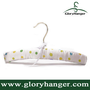 Hot Sale Baby / Children Padded Hanger with Clips for Display Shop (GLSH302) pictures & photos