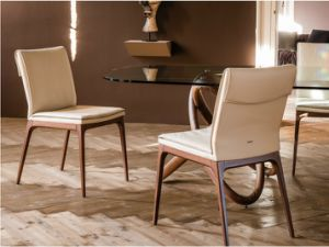2016 Modern Sytle PU Dining Chair with Ashwood Leg (DC024)