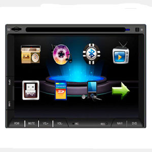 Touch Screen Car DVD Player GPS Navigation USB SD Bluetooth pictures & photos