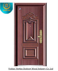 Security Steel Apartment Door, Stainless Steel Door, Entrance pictures & photos
