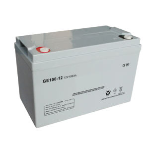 12V100ah Rechargeable Solar Battery for Solar Power Inverter
