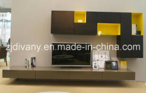 European Modern Furniture Living Room Wooden Large Cabinet (SM-TV07) pictures & photos