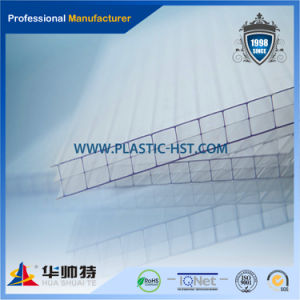 100% Sabic Polycarbonate Hollow Sheet for Roofing pictures & photos